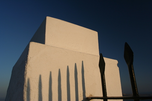 Fence White Block