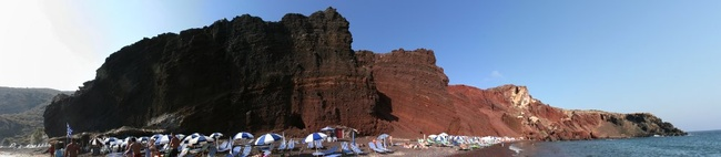 Red Beach Panorama